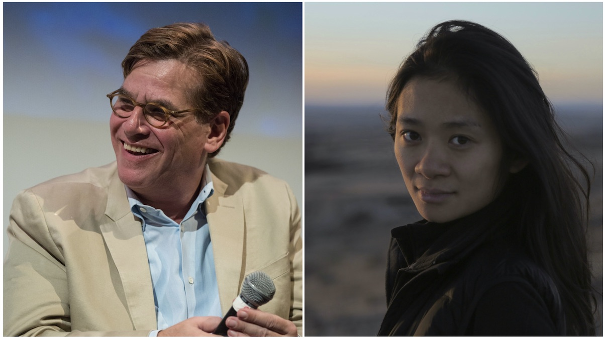 Aaron Sorkin and Chloé Zhao